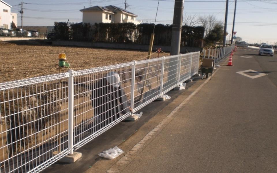 安全柵の更新